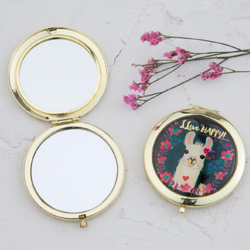 Natural Life Llive Happy Compact Mirror