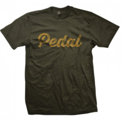 DH Design 'Pedal' T-Shirt, Olive Green