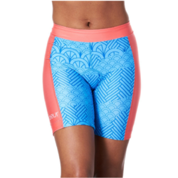 Coeur Women's Triathlon Shorts in Serenity Design