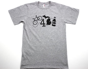 Bike 4 Michigan Beer Shirt