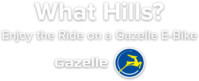 Gazelle E-Bikes - Enjoy the ride