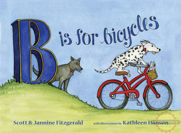 Buddy Pegs B is for Bicycles Children's Book