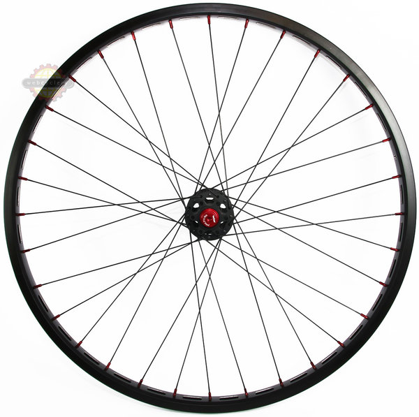 "Crewkerz Jealousy 26"" Disc Front Wheel"