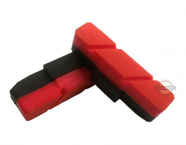 Crewkerz Red Brake Pads