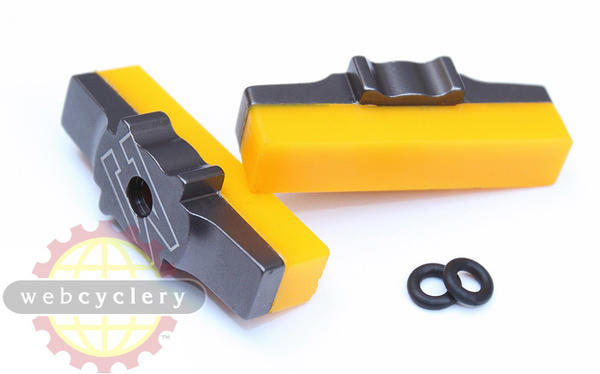 Echo CNC Yellow HS33 Brake Pads