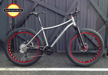 Fatback Bikes Custom Spec Titanium MD Bike