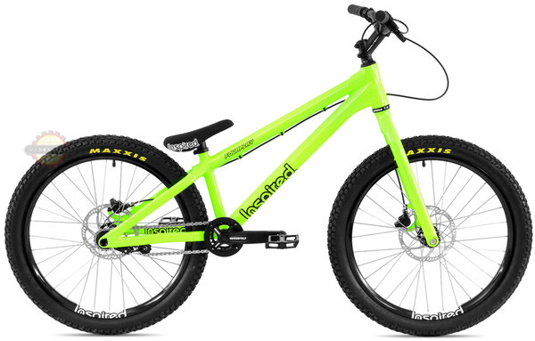 "Inspired Fourplay Pro 24"" Bike Color: Acid Green"