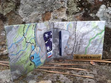 Scout Wallet Trail Map Wallet