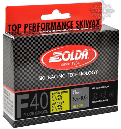 Solda F40 Carbon Ski Wax