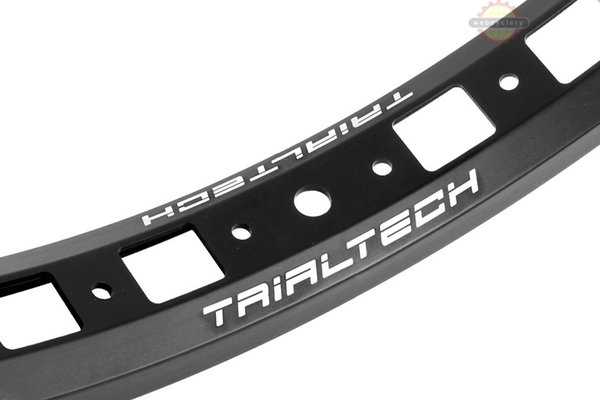 "Trialtech Sport Lite 20"" Front Rim Color: Black"