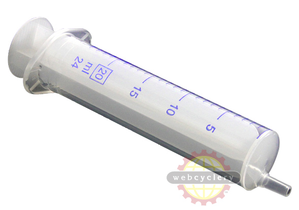 Trialtech Bleed Syringe Size: 24ml