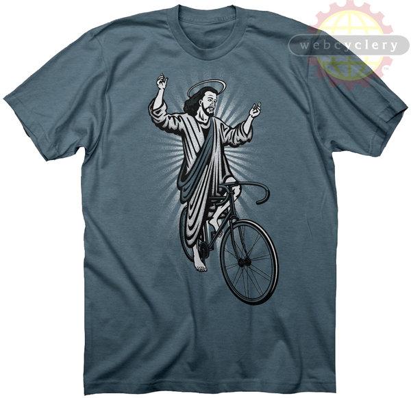 Twin Six Webcyclery Jesus T-Shirt