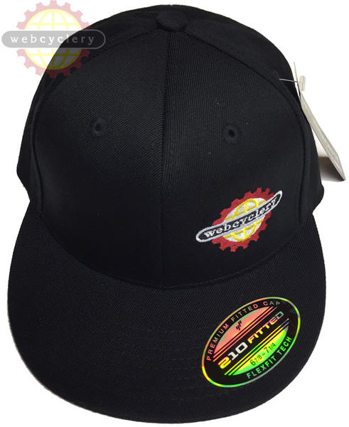 WebCyclery Flatbrim Flexfit Hat