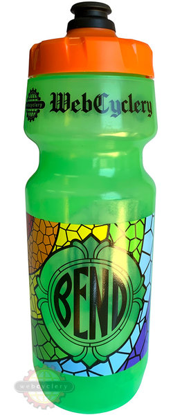 WebCyclery Stained Glass Water Bottle