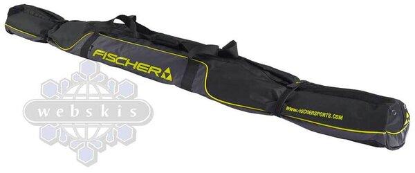 Fischer Performance XC Ski Bag 5 Pair w/wheels