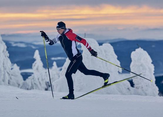 classic race skiing