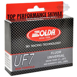 Solda UF7 Low Fluor Ski Wax