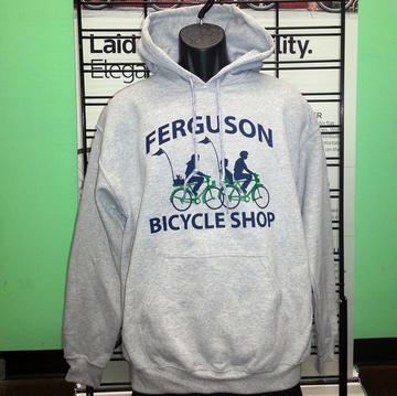 Ferguson Bicycle Shop Logo Hoodie
