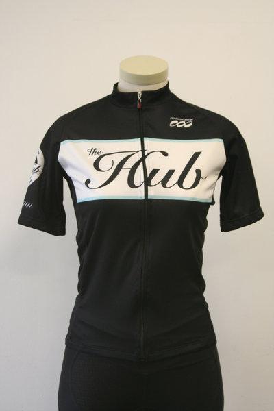 Hub Bike Co-op Podiumwear Hub Jersey Black WN