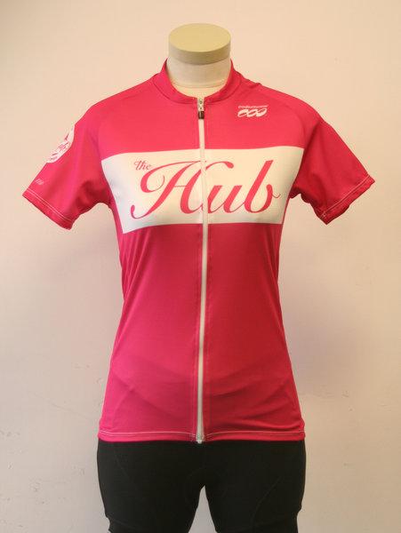 Hub Bike Co-op Podiumwear Hub Jersey Pink WN