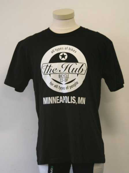 Hub Bike Co-op Hub Bike Co-op Tee MN
