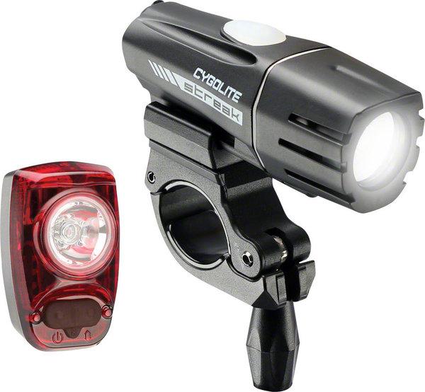 Cygolite Streak 450 Headlight and Hotshot SL 50 Taillight Set