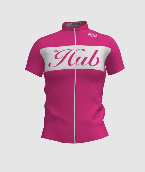 Hub Bike Co-op SS Cycling Jersey - Pink