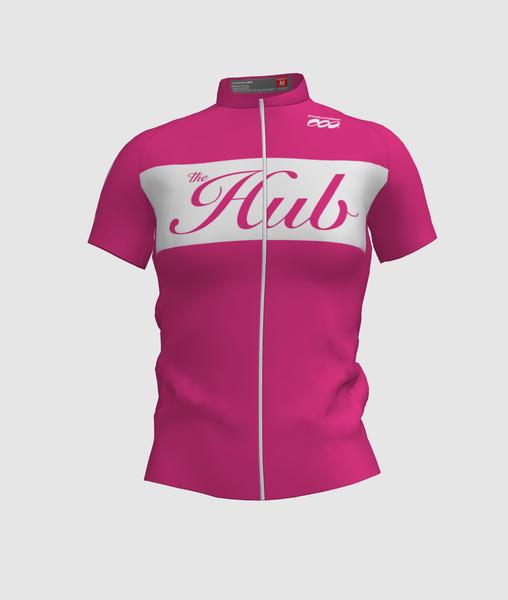 Hub Bike Co-op Women's SS Jersey - Pink