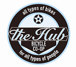 The Hub Bicycle Cooperative Logo