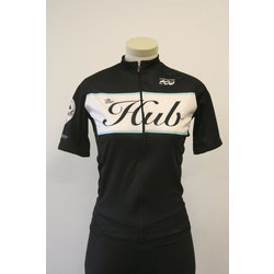 Hub Bike Co-op Podiumwear Hub Jersey Black WN