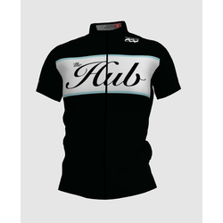 Hub Bike Co-op SS Cycling Jersey - Black
