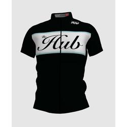 Hub Bike Co-op SS Cycling Jersey - Black