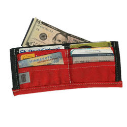 Trash Bags Cash Stash Wallet
