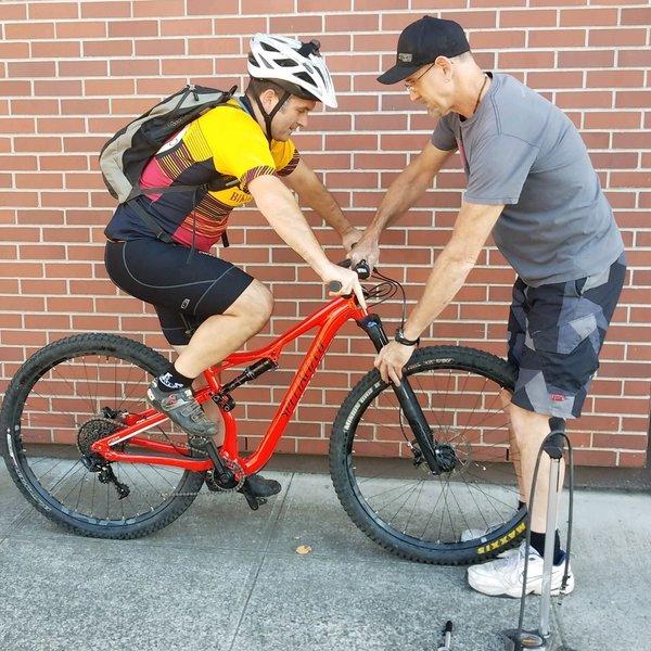 Camas Bike & Sport Suspension Tuning Clinic