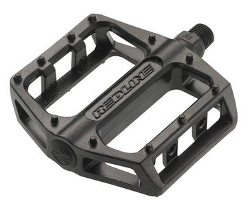 Redline Lo-Profile Alloy Platform Pedals, Sealed Bearing