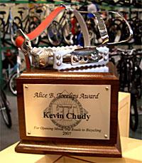 Alice B. Toeclips Award