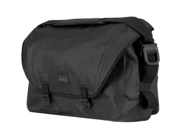 Brompton Metro Waterproof Bag L, Black, with frame