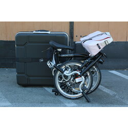 Brompton SOLD OUT M2E Black with Shoulder bag & Folding Case