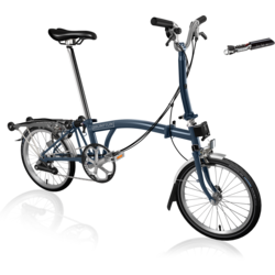 Brompton Brompton M6R Tempest Blue | Preview sale until 10/19 * online only*