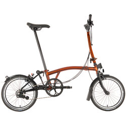 Brompton H6LX Flame Laquer Ti Black Edition Superlight
