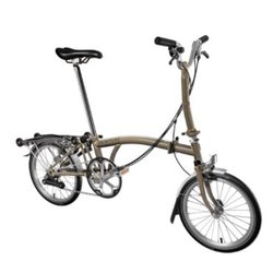 Brompton M6R - Raw Lacquer