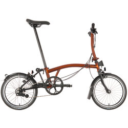 Brompton S6LX Flame Lacquer Black Edition Superlight