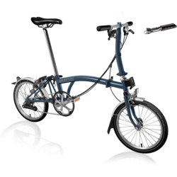 Brompton Brompton S6L Tempest Blue | Preview sale until 10/19 * online only*