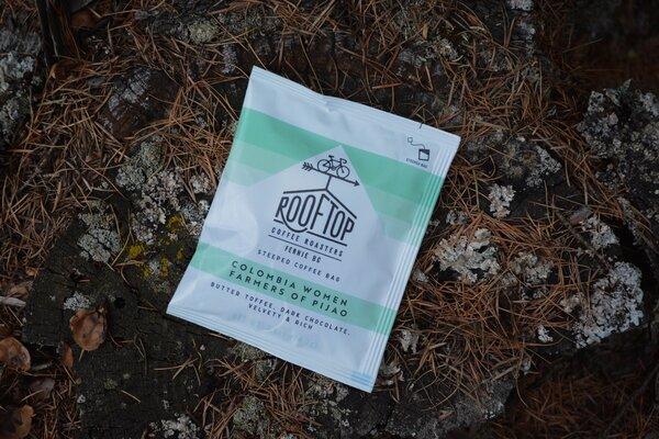 Rooftop Coffee Roasters Fresh Tracks, Steeped Packs