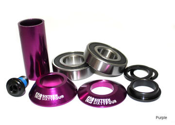 1664 BMX Mid BB - 22mm Color: Purple