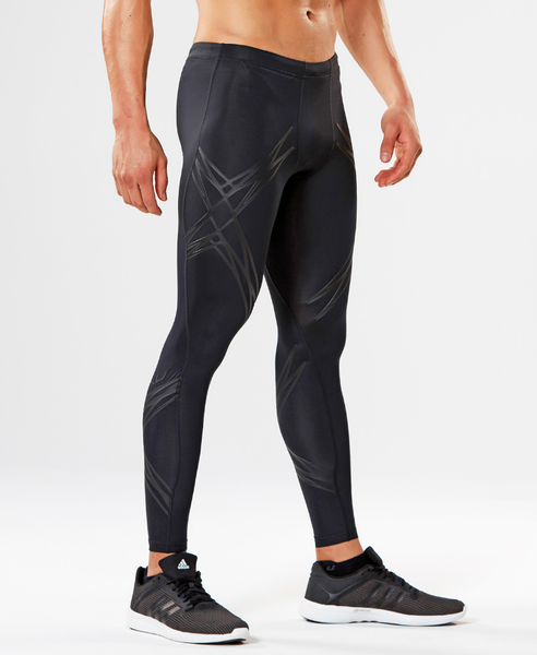 2XU LOCK COMPRESSION TIGHTS BLACK/NERO Medium
