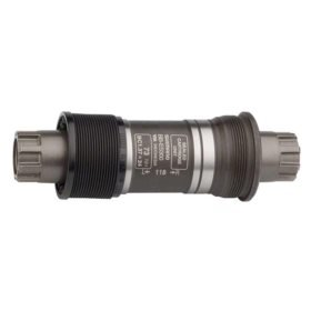 Shimano EBBES300B21, BB-ES300, Octalink, BB Shell: 68mm, Axle: 121mm, Steel, Silver