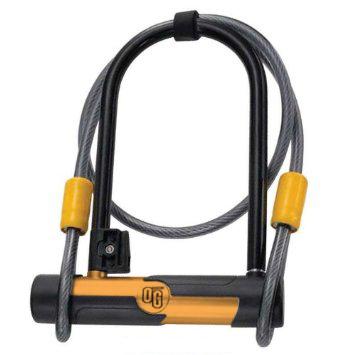 OnGuard OG U-Lock 5815, 106mm x 200mm / Cable 10mm x 120cm