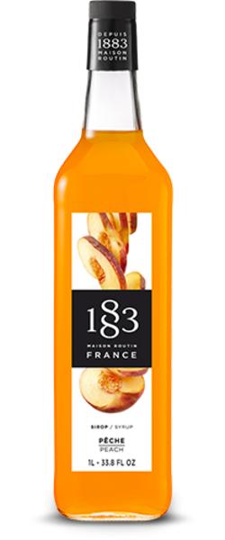 1883 Maison Routin Peach Syrup