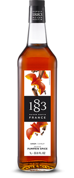 1883 Maison Routin Pumpkin Spice Syrup